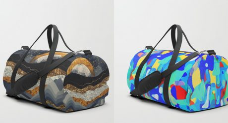 Shuffle Your Belongings in Society6's Newly Launched Duffle Bags