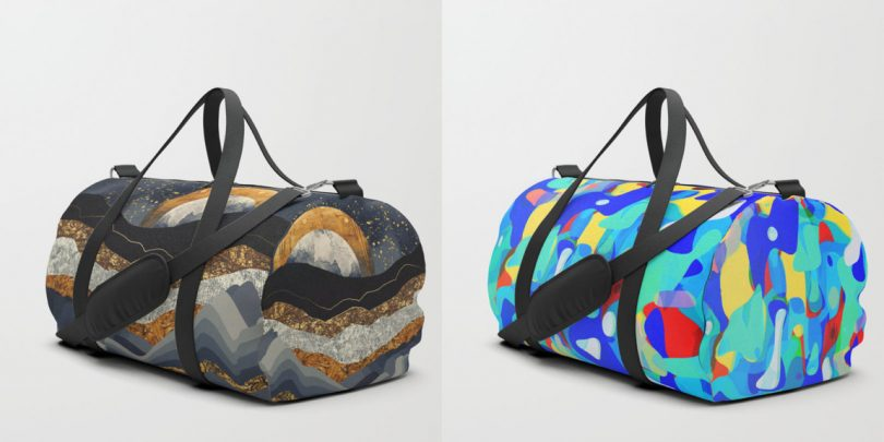 Shuffle Your Belongings in Society6?s Newly Launched Duffle Bags