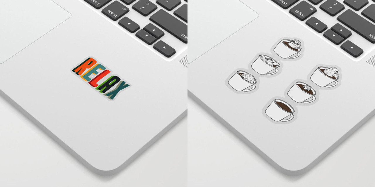 Society6 Launches Stickers!