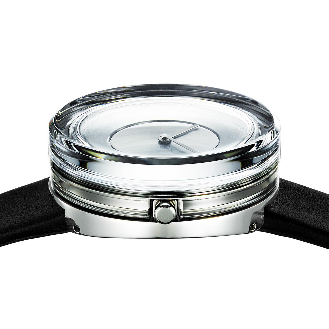 Tokujin Yoshioka Designed a Glass Watch for ISSEY MIYAKE Watch Project