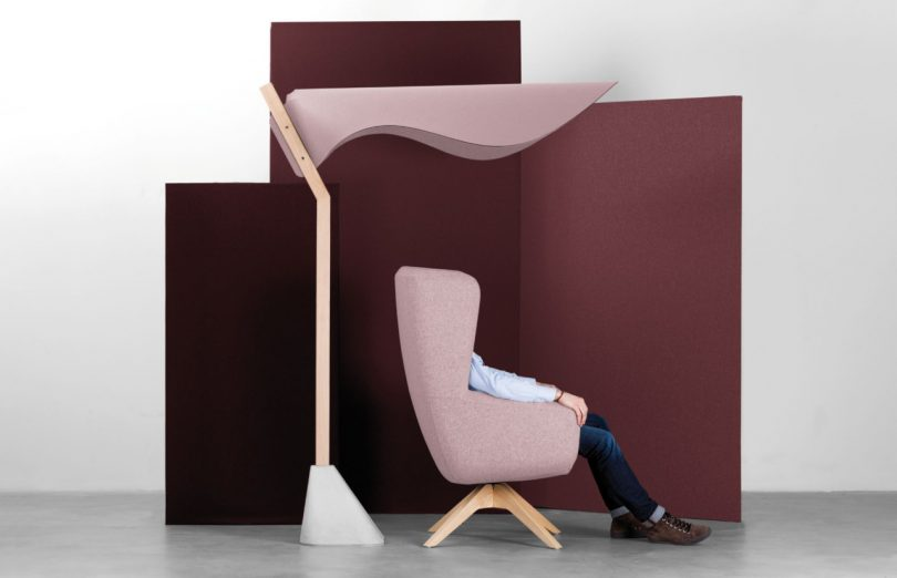 Office Furniture with an Autumnal Color Palette from True Design