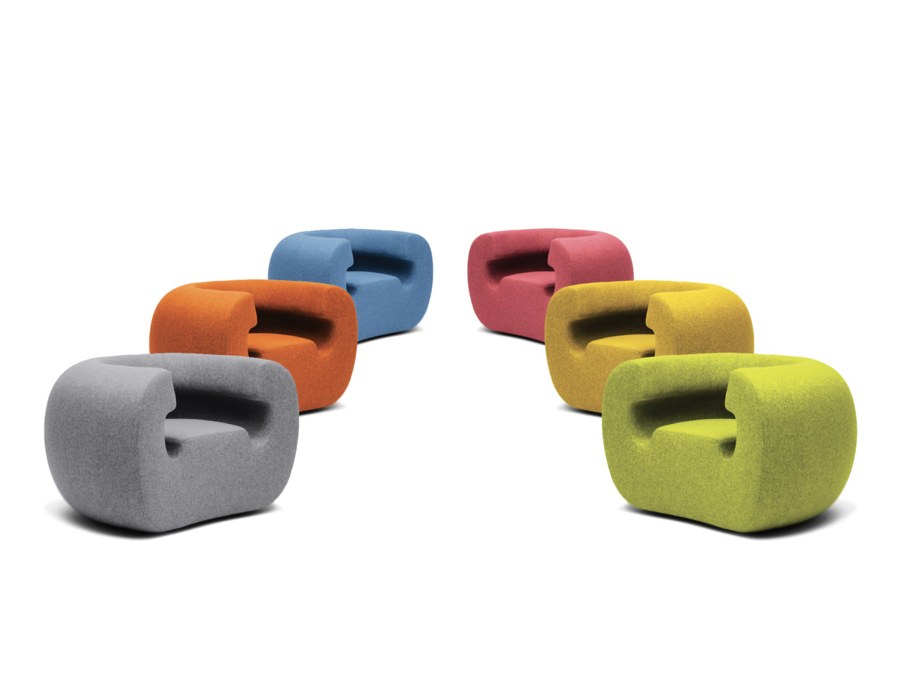 Roxanne: An Innovative Armchair Inspired By Music Michael Young for Gufram