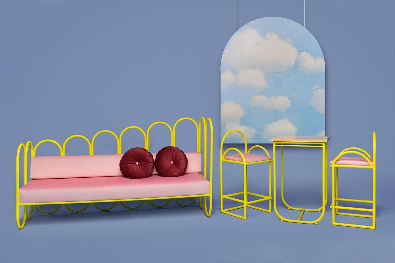 Beau ARCO: A 70s Inspired Furniture Collection By Masquespacio For Houtique ...