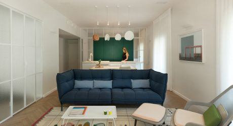 A Renovated Tel Aviv Apartment in a 1930's Bauhaus Building