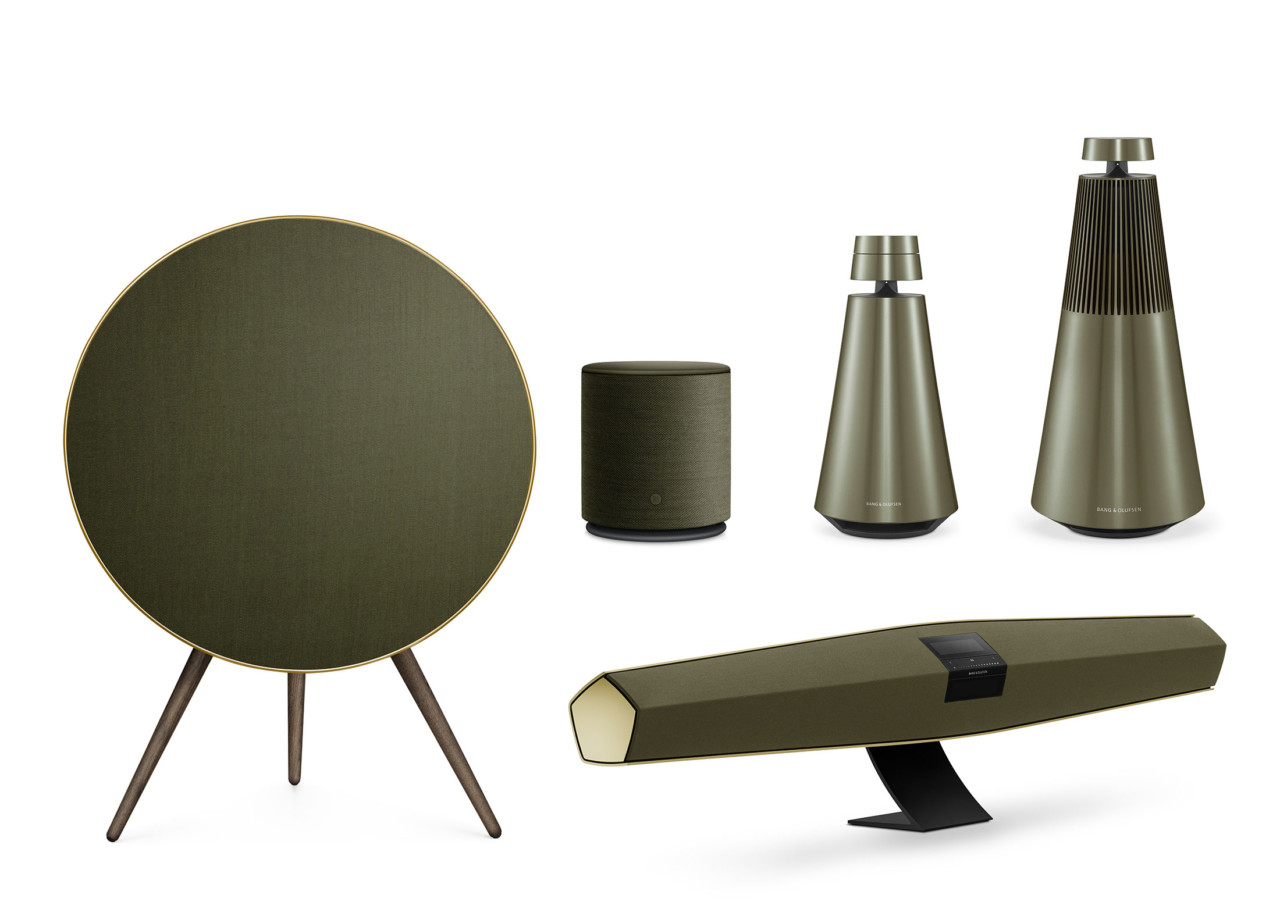 bang olufsen goes green with the harmonies collection. Black Bedroom Furniture Sets. Home Design Ideas