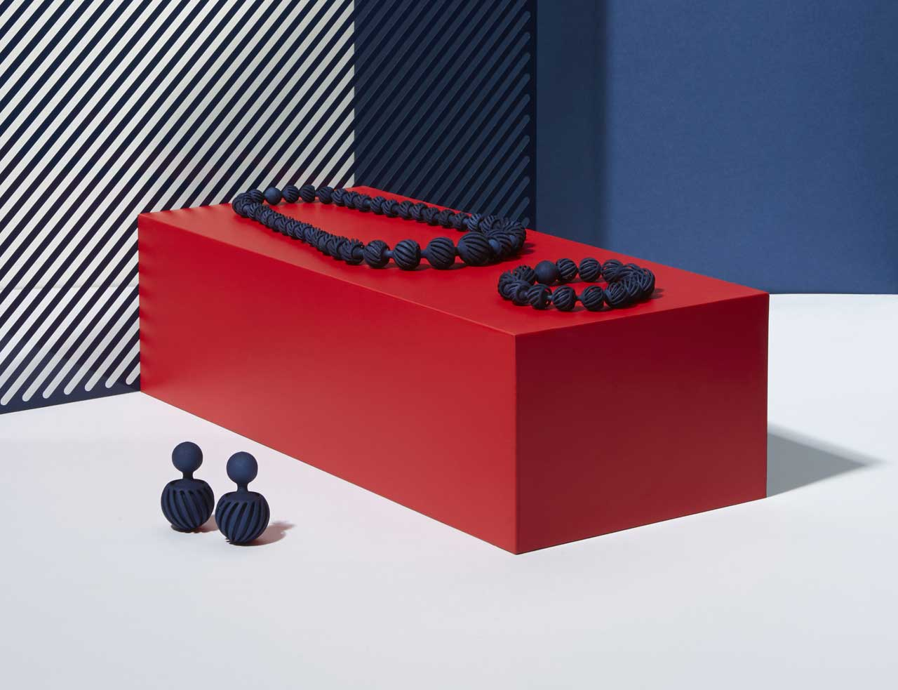 Bearing 3D Printed Jewelry by Giulio Iacchetti for Maison 203