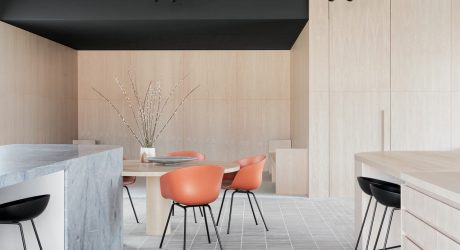 GOLDEN Designs a Modern Sales and Marketing Office for Brickworks Centre