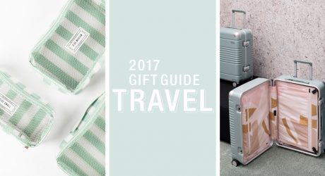 2017 Gift Guide: Travel