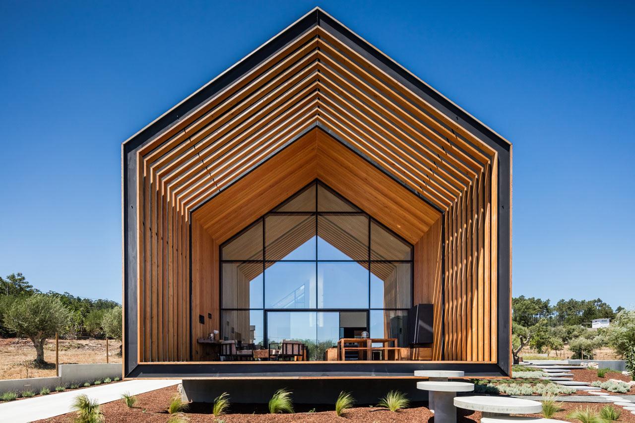 House in Ourém by Filipe Saraiva Arquitectos