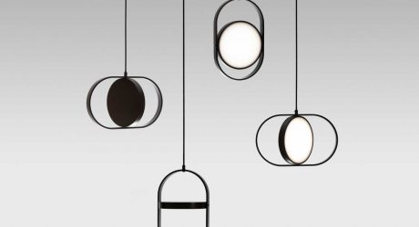Kuu: A Reversible, Moon-Inspired Pendant Light by Elina Ulvio