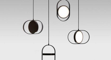 Kuu: A Reversible, Moon-Inspired Pendant Light by Elina Ulvio