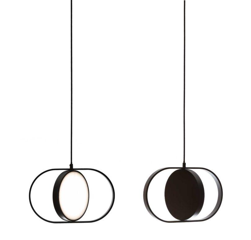 Kuu A Reversible Moon Inspired Pendant Light By Elina