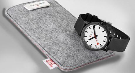 Mondaine SBB essence Embodies Swiss Style Through Sustainability