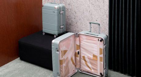 Arlo Skye x Sight Unseen Luggage Is a Jettsetter's Dream