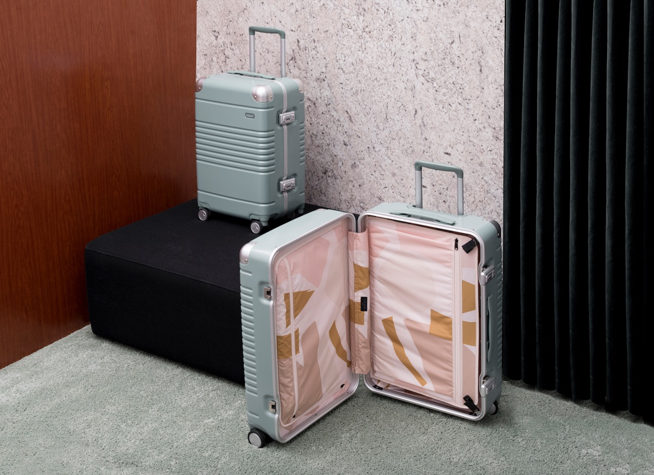 Arlo Skye x Sight Unseen Luggage Is a Jettsetter's Dream