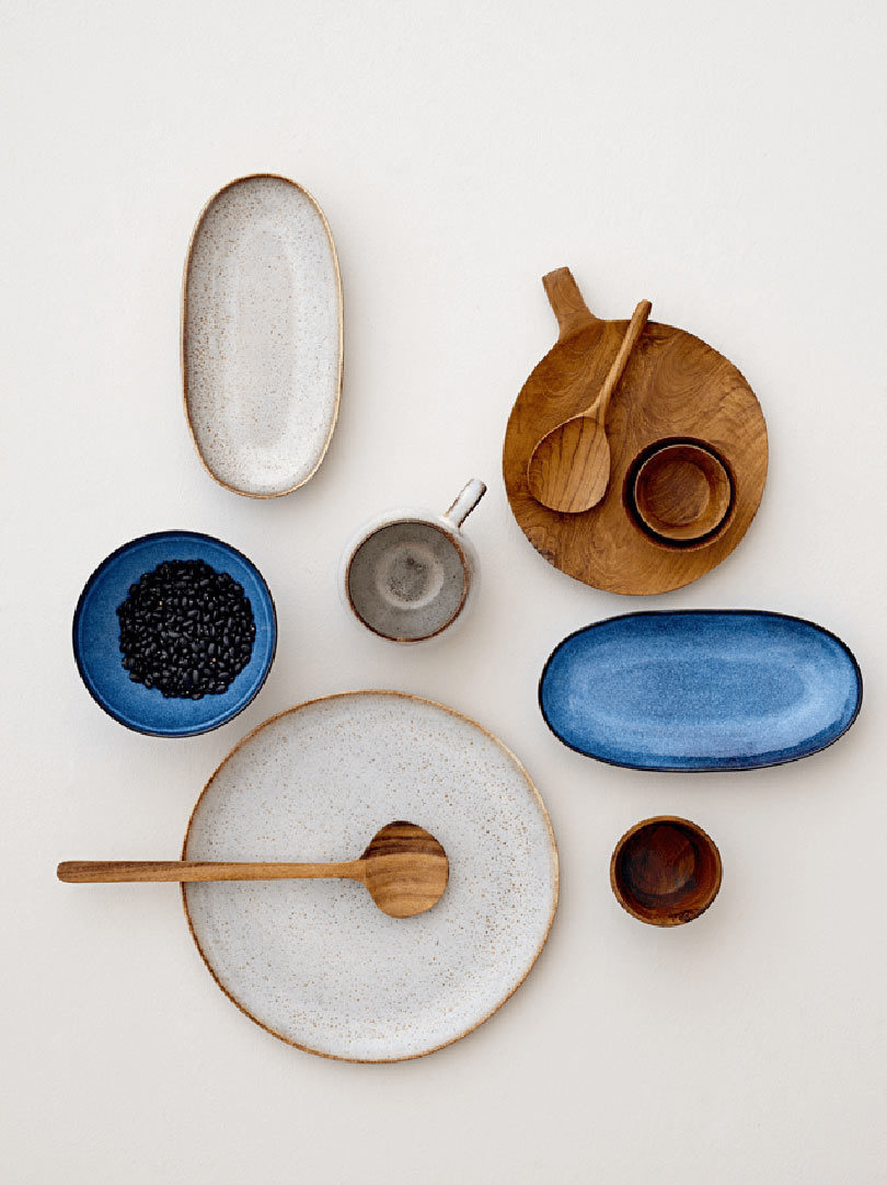Tableware by Bloomingville & Perfectly Curated Tableware Compositions That Make Us Calm - Design Milk