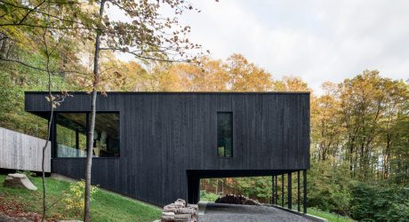 The Rock: A Home Built Into A Mountain By Atelier Général
