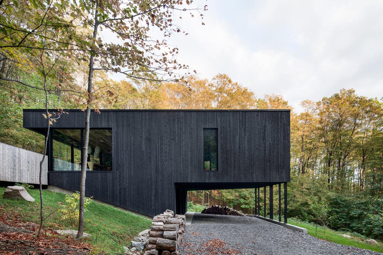 The Rock: A Home Built into a Mountain by Atelier Général