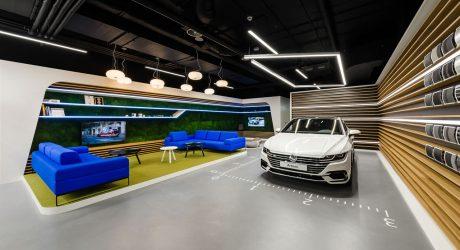 mode:lina™ Designs a New Volkswagen Showroom for Polish Market