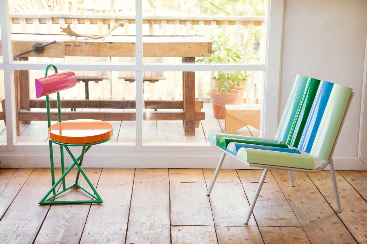 GALACTICA: A Futuristic, Indoor/Outdoor Furniture Collection for altreforme