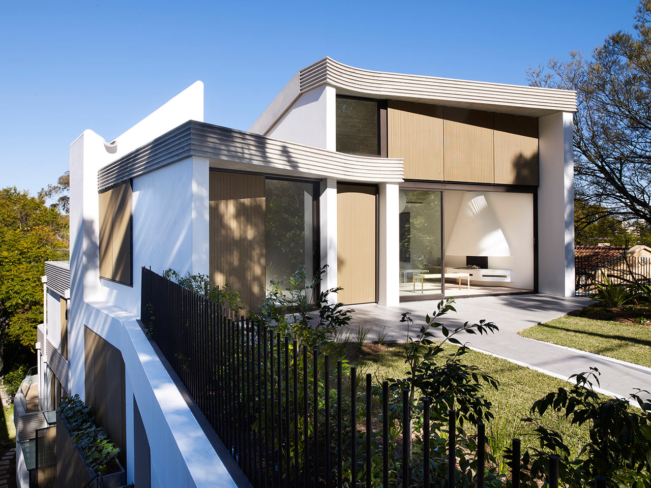 The Triplex Apartments By Luigi Rosselli Architects