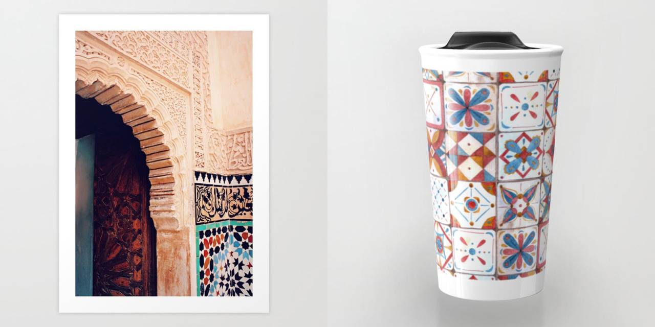 Exploring Marrakech Through Society6