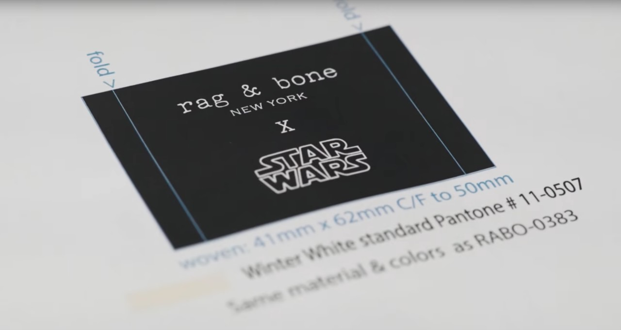 Rag & Bone Star Wars: The Last Jedi Capsule Collection