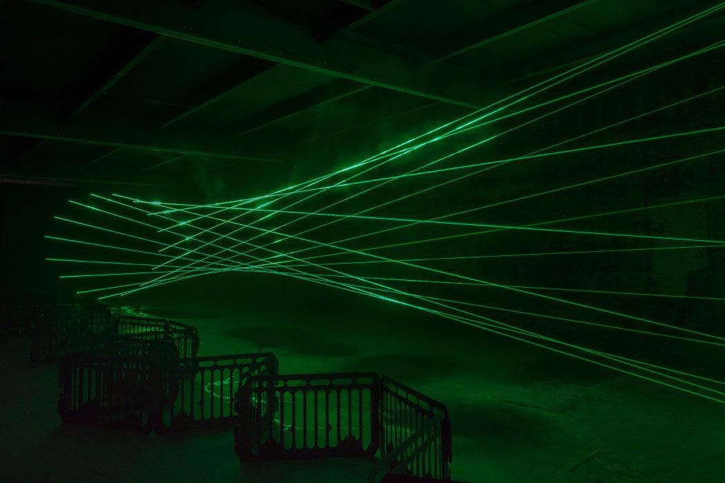 Lasers in a Gallery: Rita McBride's Particulates