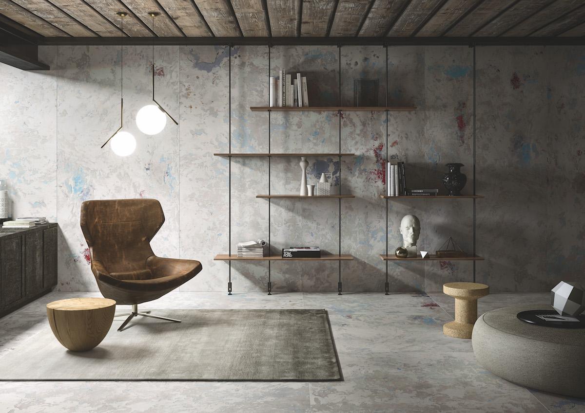 Fresco-Inspired Ceramic Slabs Transport You to Italy