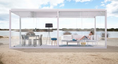Cristal Box: An Outdoor Pergola You Can Escape to All Year Long