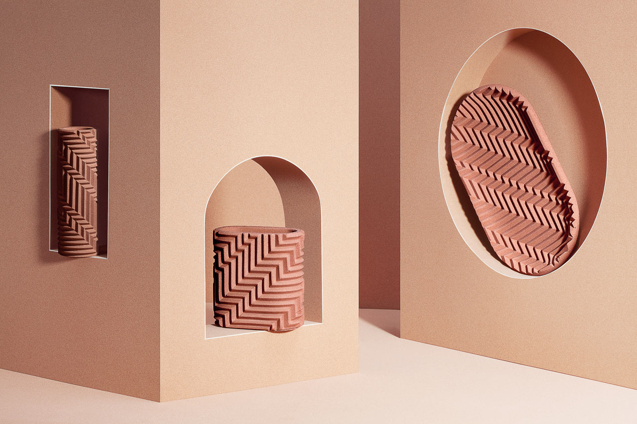 Handmade Herringbone Objects by Phil Cuttance