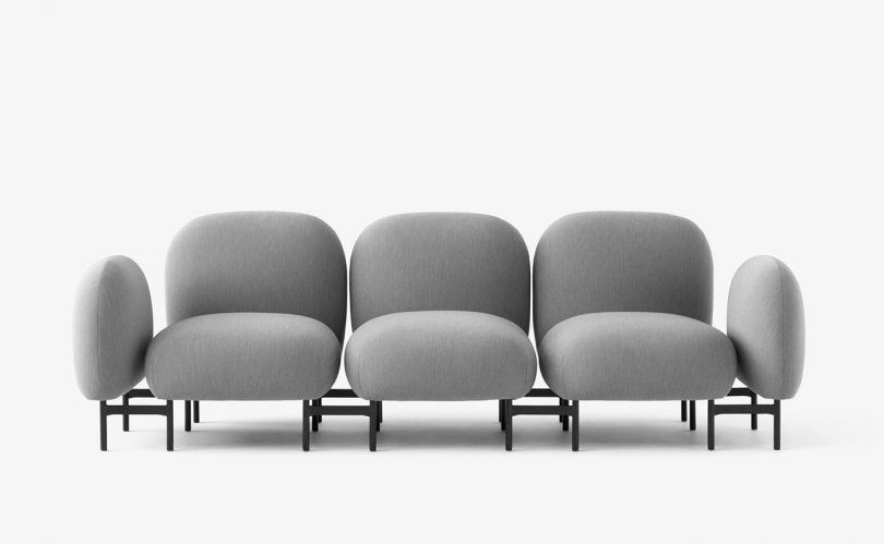 Isole Modular Seating by Luca Nichetto and Nendo for &tradition