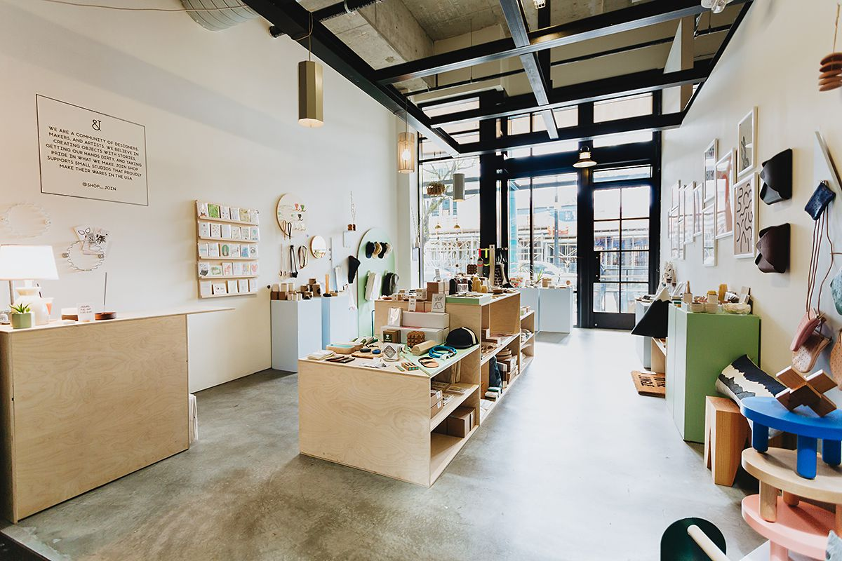 1 shop 2 owners 60 independent designers fruitsuper 39 s join shop in seattle design milk