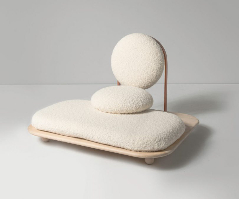 Limited Edition Asana Ground Chair by Mario Milana for Les Ateliers Courbet