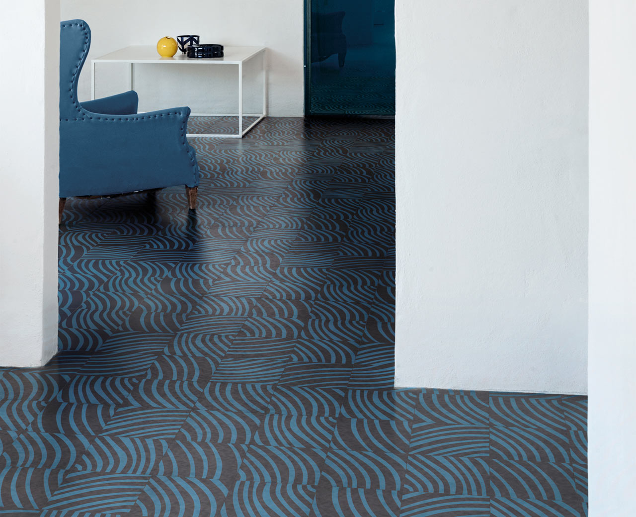 Bisazza Launches Tonal Collection by David Rockwell for Bisazza Cementiles