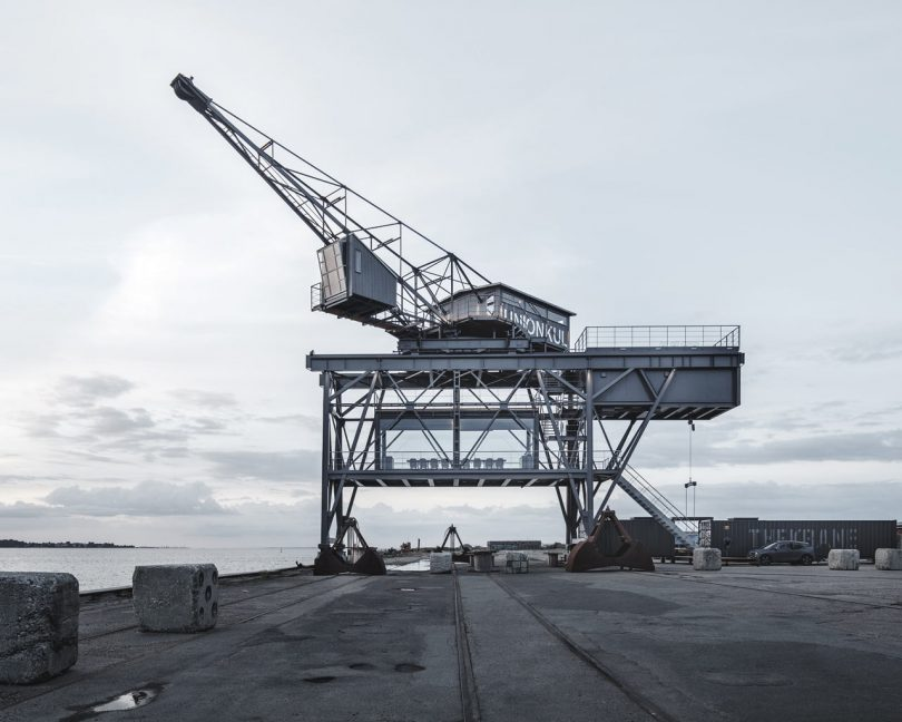 THE KRANE: An Old Coal Crane Becomes a One Room Hotel for Two