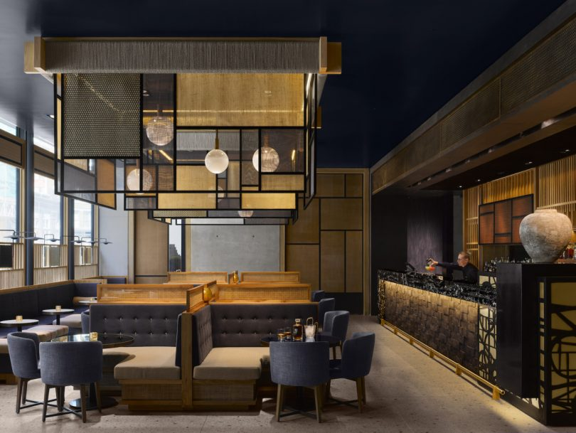 East-Meets-West Meets Modern: The Nobu Hotel Shoreditch