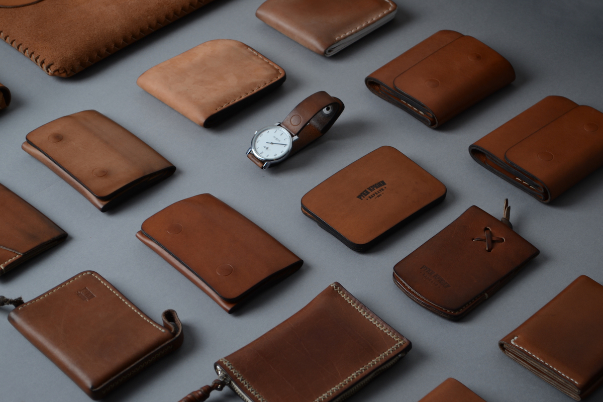 RUKI-KRYKI: Handcrafted Leather Goods by Vladimir Kovalev