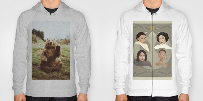 Keeping Warm with Hoodies from Society6