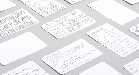 Strategist Dot Grid Note Cards from Baron Fig