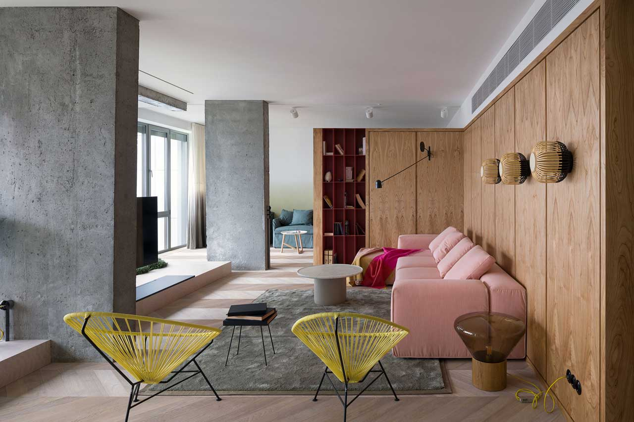 Apartment Indoor Garden A colorful kiev apartment with an indoor garden by olha wood workwithnaturefo