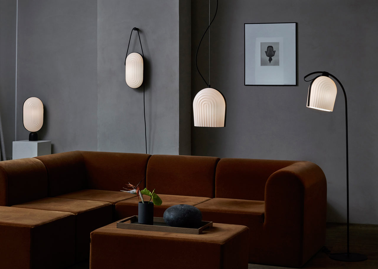 ARC Lighting Collection Inspired by the Interior of a Copenhagen Church