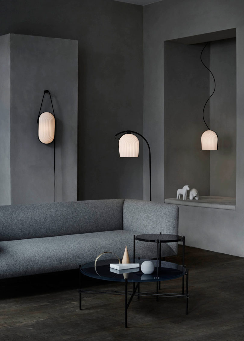 Arc Lighting Collection Inspired By The Interior Of A