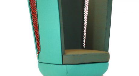 Italo Pertichini Unveils SLY Armchairs in New Kvadrat Fabrics for Adrenalina