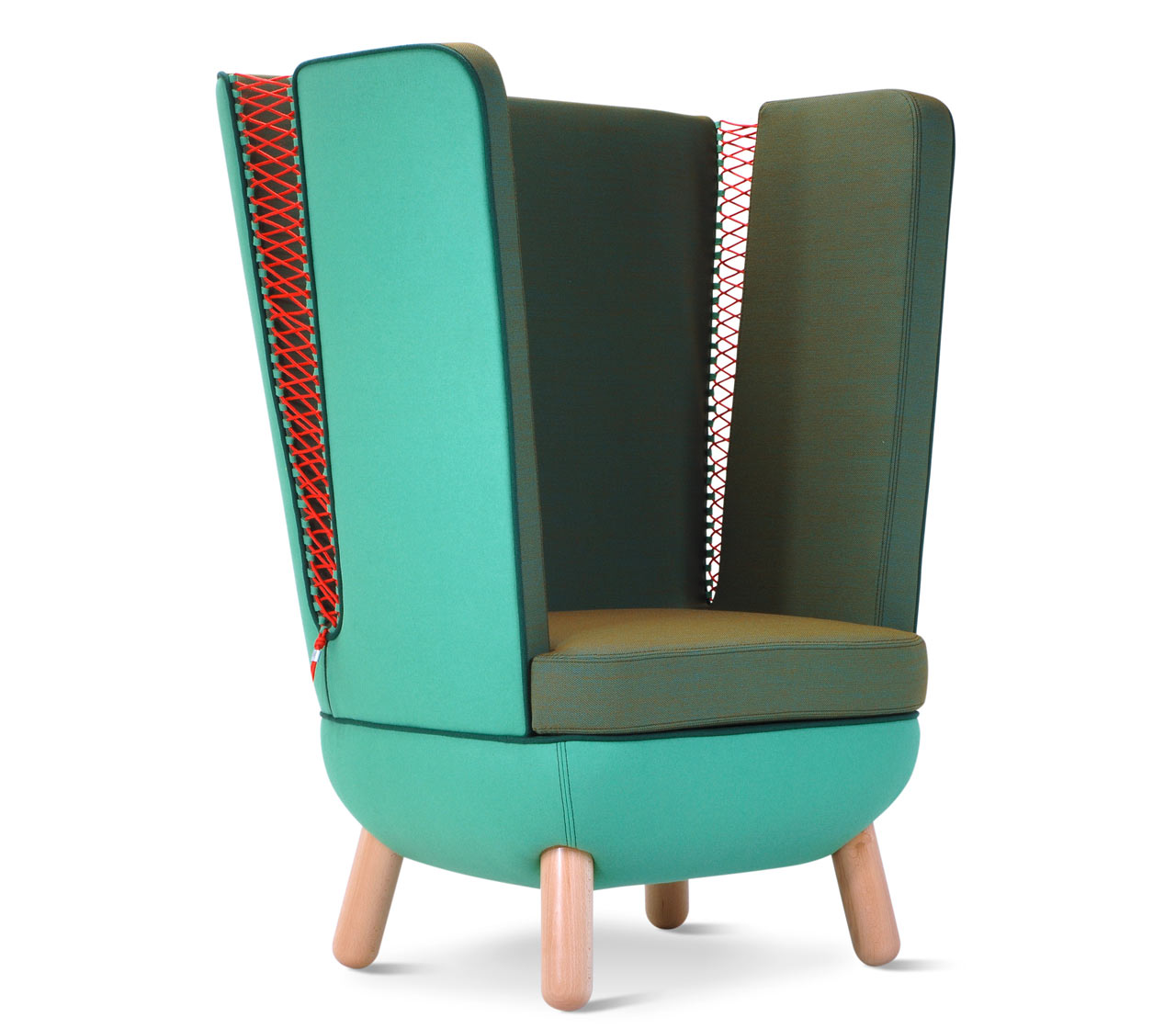 Italo Pertichini Unveils SLY Armchairs in New Kvadrat Fabrics for Adrenalina