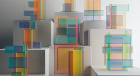 Chromatic Numerical Sculptures Inspired by Josef Albers from Leonardoworx
