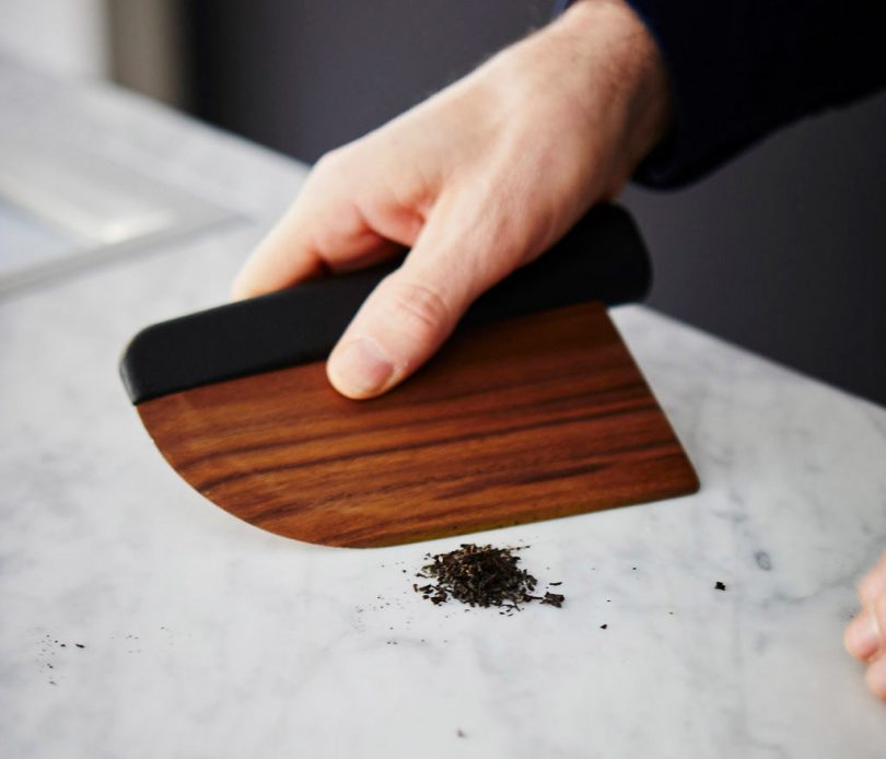 A Wooden Knife Designed to Fit Comfortably in Your Hand