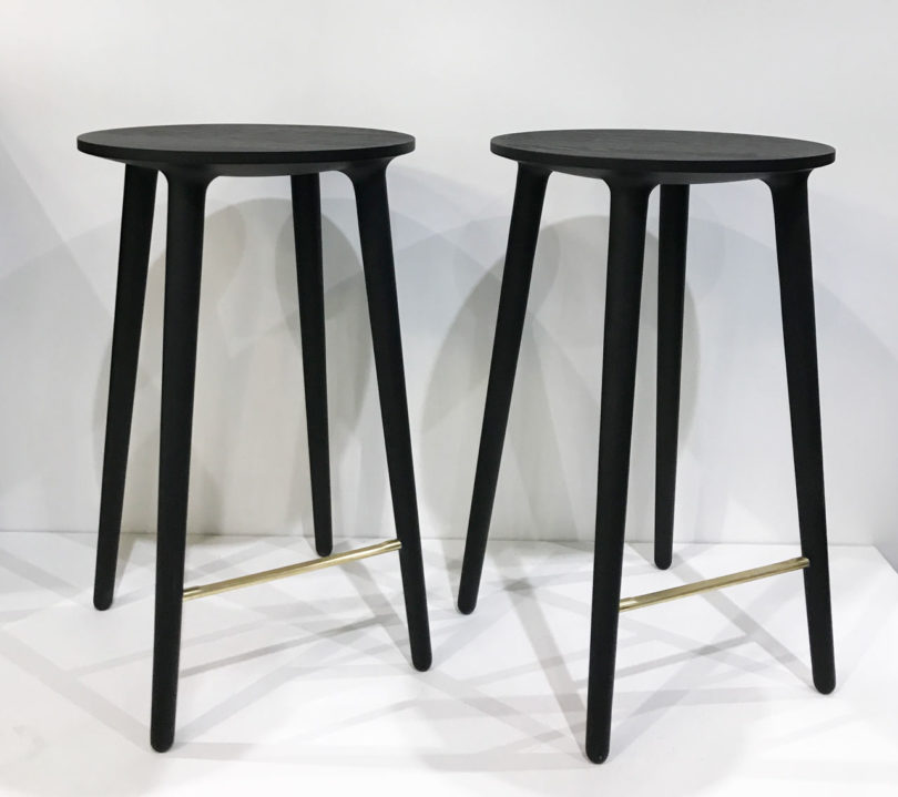 Kastellau0027s Handcrafted Furniture On Display Included These C401 Stools That  Seem Simple At A Quick Glance, Only To Discover Really Beautiful Details,  ...