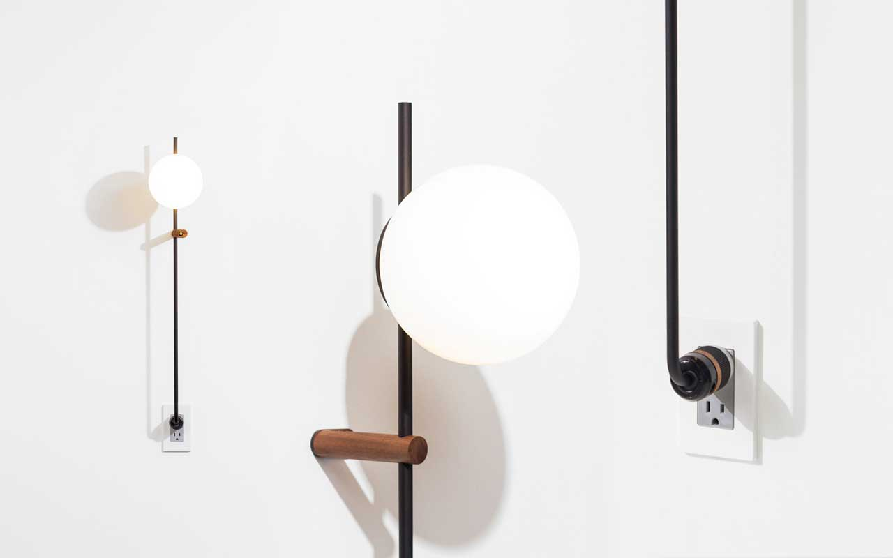 The LYNEA Plug Lamp Doesn't Require Hardwiring