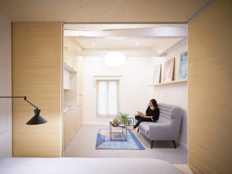Urban Cocoon Is a Compact Apartment in Paris That Gets a Modern Renovation